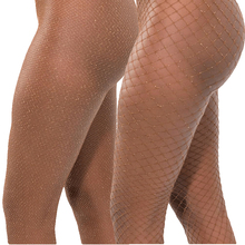 Sexy pantyhose tights shiny women's sexy Stcokings diamond brilliant Medias de mujer fishnet stockings carnival glitter SW128