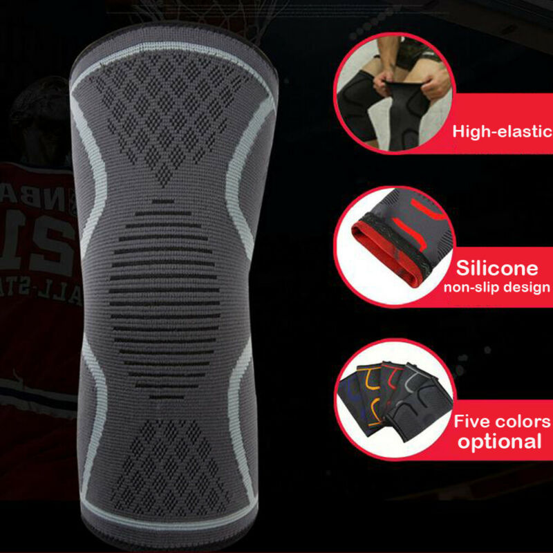 2020 Fashion Creative Function Knee Brace Support Compression Strap Pad Guard Sports Protector Arthritis Pain Sports Game Cusion