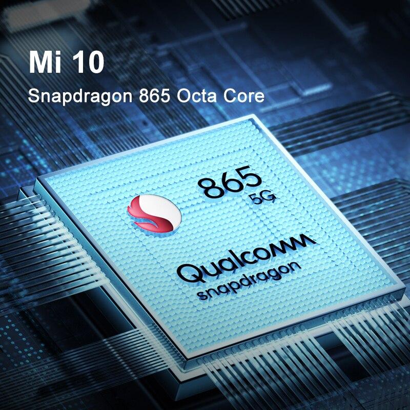 Globale Version Xiaomi Mi 10 8GB Ram 128GB Rom Handy 5G Smartphone 108MP Snapdragon 865 Octa core 6.67