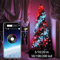 Christmas Decoration for Home USB LED String Light App Control String Lights 2020 Garland Fairy Light for Christmas Ornaments