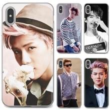 Oh SeHun EXO-K EXO Team Korean Star для iPhone iPod Touch 11 12 Pro 4 4S 5 5S SE 5C 6 6S 7 8 X XR XS Plus Max 2020, мягкий чехол из ТПУ