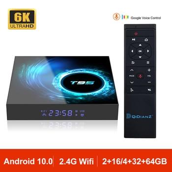 Android 10.0 T95 Smart TV Box Allwinner H616 Quad Core 2.4G Wifi 6K Set Top Box Mini Media Player TV Receiver 2GB 4GB VS HK1