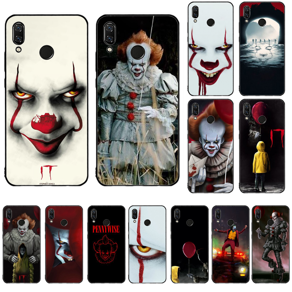 Pennywise ピエロホラー TPU ソフト用 redmi 5 プラス 6 プロ 6A S2 4X 7A i7 note7 行く