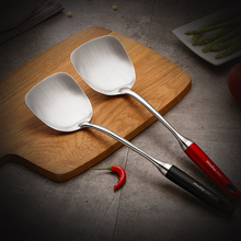 Spatula 304 Stainless Steel Household Paint Thick Anti-scalding Shovel Integrated Iron High Temperature Kitchen Turners