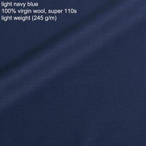 Image 4 - 100% Virgin Wool Men Suit Custom Made Suit Luxury Wool Silk Business Suits For Men, Besopke Suit in Wool Costume Homme de luxe