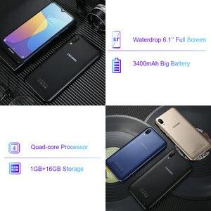 Image 4 - DOOGEE X90 cep telefonu 6.1 inç 19:9 Waterdrop LTPS ekran Smartphone dört çekirdekli 16GB ROM 3400mAh çift SIM 8MP + 5MP WCDMA Android gitmek