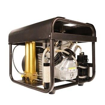 4500PSI yüksek basınçlı kompresör PCP havalı tüfek kompresör ayarlanabilir otomatik durdurma dahili su soğutma sistemi dalış tankı