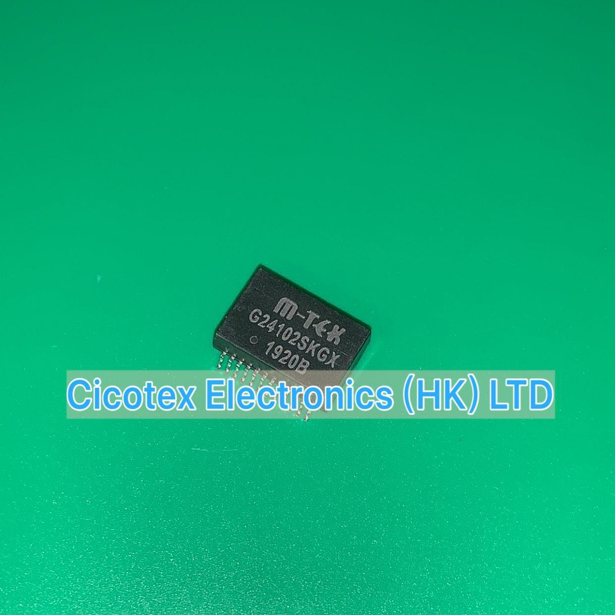 5pcs/lot G24102SKGX SOP24 G24102S KGX NETWORK FILTER TRANSFORMER G24102 SKGX SMD24 24102 G 24102SKGX