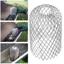 1 шт. защитные фильтры для крыши водосточных желобов, алюминиевый фильтр, сетчатый фильтр останавливает сливную сетку