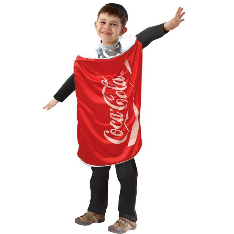 New Style Children Western Food Snack Coke Character Play Cospaly Stage Costume Performance Wear Manufacturers Cross Border