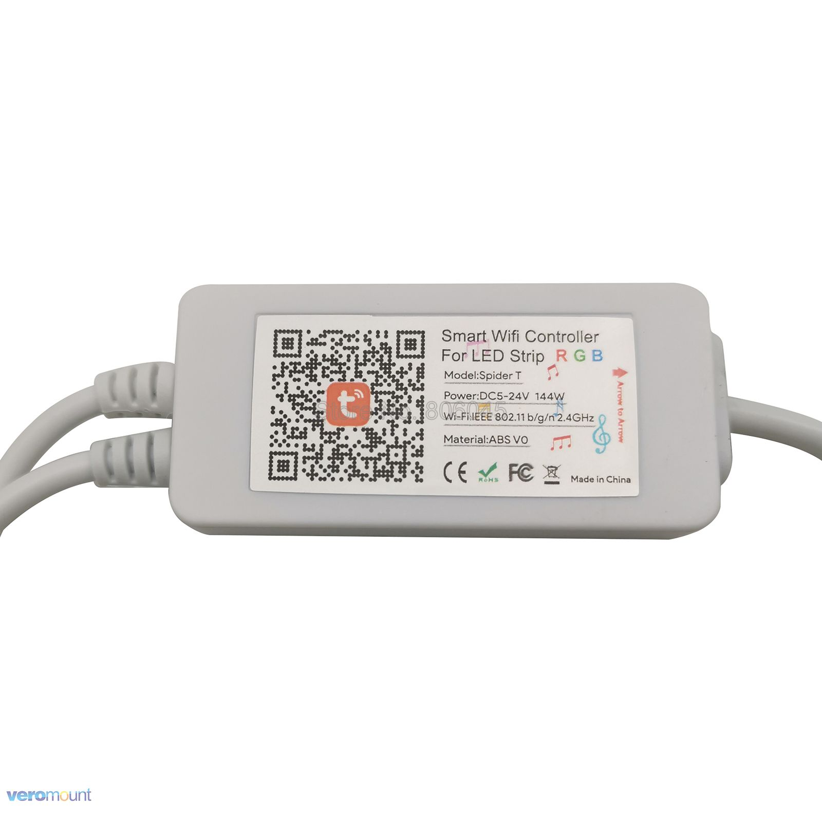 Image 5 - 5m 10m 5050 RGB LED Strip Set Flexible LED Tape + Tuya Smartlife Wifi Controller Alexa Google Home Voice Control + Power SupplyLED Strips   -