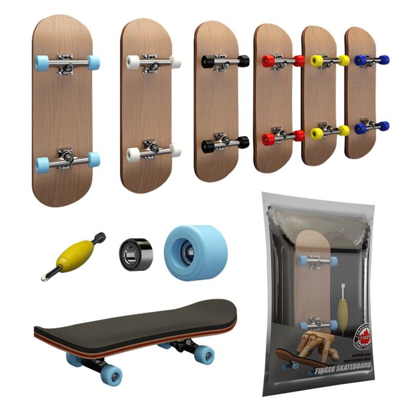 Фингерборд, профессиональный деревянный скейтборд + Подшипники