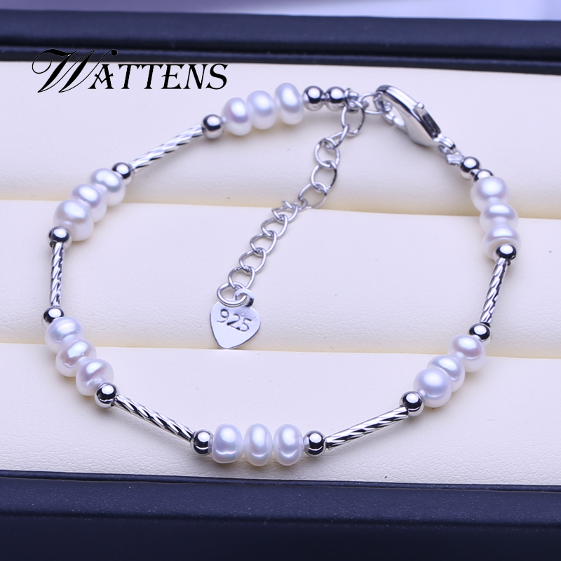 Natural Pearl Bracelet for Women Fashion White Mixed Color Pearl Bracelet Wedding Party Birthday Accessories Gift Wholesale new