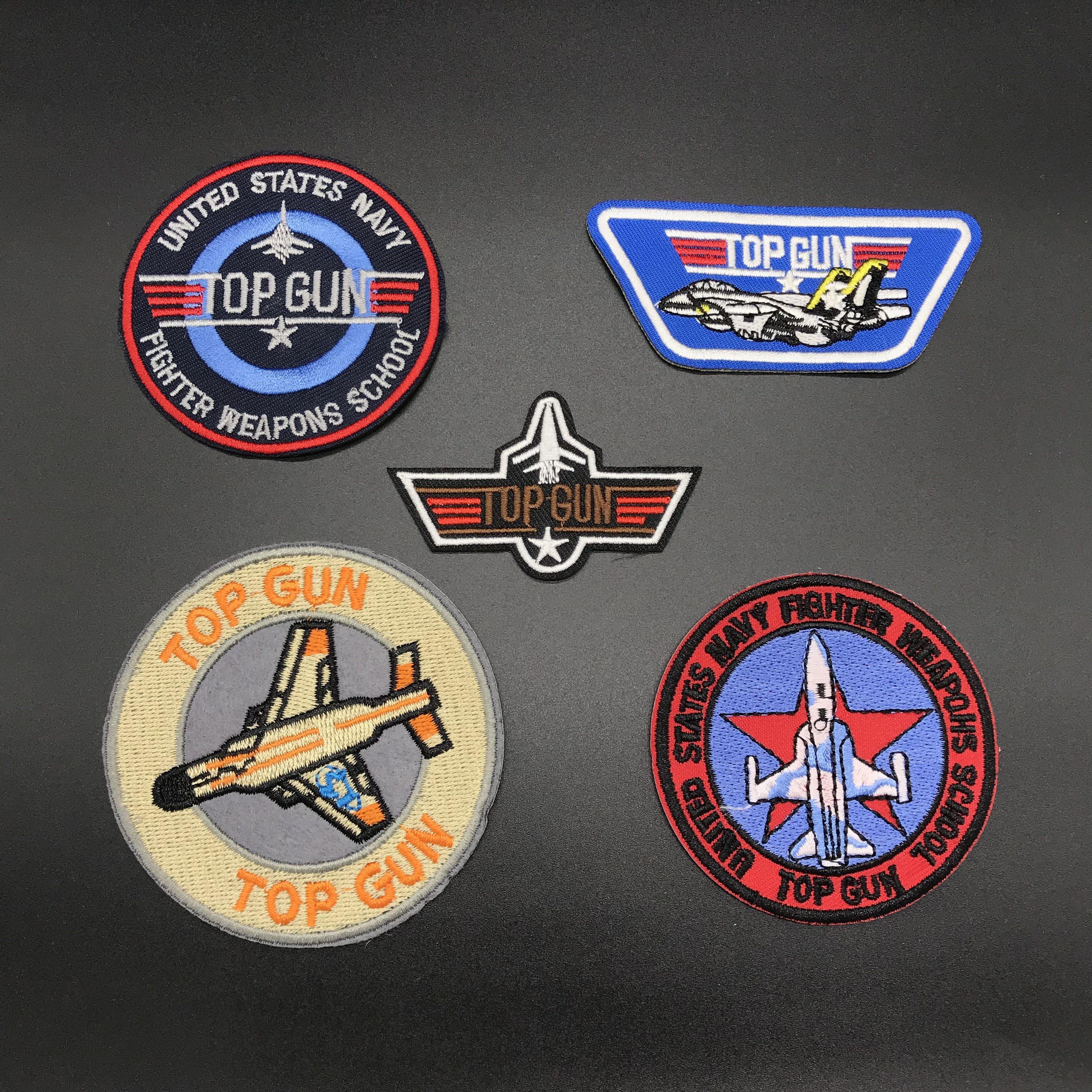 Tomcat patch F-14 Top Gun movie USN Navy US morale Pilot Costume Cruise top gun