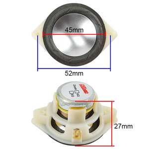 Image 3 - GHXAMP 1.5 inch 4ohm 5W full range speaker Long stroke Magnesium Aluminum cone Neodymium Desktop Bluetooth MINI Speaker Diy 2pc