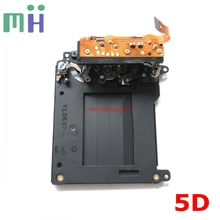 Second hand For Canon 5D ( First Version ) Shutter Unit with Blade Curtain Camera Repair Spare Part