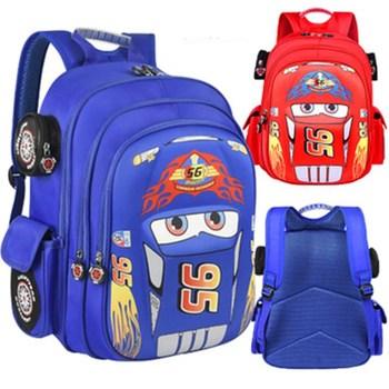 Korean 3D Cartoon Car Children's Schoolbag Kindergarten Baby Boy Backpack Primary School Kids Bag Burden-reducing Protect Spine ботинки лыжные nnn spine baby