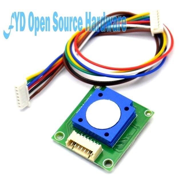 Sensor de gás do módulo do sensor do ozônio o3 de 1 pces ZE25 O3