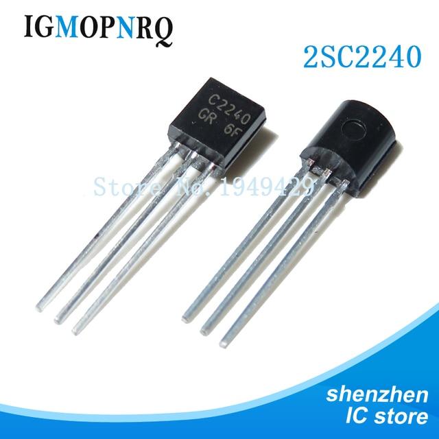 1000 Cái/lốc 2SC2240 TO 92 C2240 TO92 Mới Triode Transistor Mới Ban Đầu