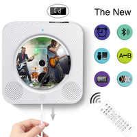 Lecteur CD Bluetooth 2019 avec haut-parleur lecteur CD avec fonction radio support u-dish TF carte enfants machine d'apprentissage