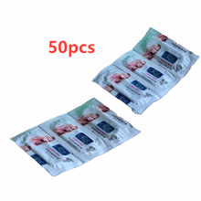 50PCs Ultra- Thin Condom For Men's Delayed Penis Sleeve Long-Lasting Student Sets Sexy Family Planning Adult Doll Sex