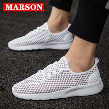 MARSON Couples Casual Shoes Sneakers Mesh Fashion Lightweigh