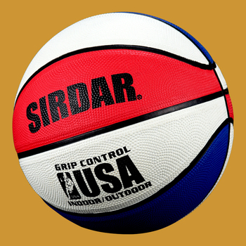 SIRDAR Basketball Rubber High Quality Training Equipment Accessories Basketball size 5 Training Ball Outdoor Indoor for Children image