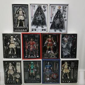 Deadpool-Figure-Toys Samurai-Figure Darth Maul Boba Ashigaru Vader Taisho Teppo Taikoyaku