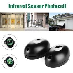 Zewnętrzny przewodowy aktywny fotoelektryczny czujnik na podczerwień z pojedynczą wiązką czujnik barierowy do okna drzwi bramy|Czujnik i detektor|   -
