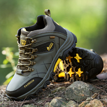 2019 New Survival Safety Shoes Men Comfortable  Steel Toe Mid-plate Anti-slip Anti-smashing Work Boots Big Size