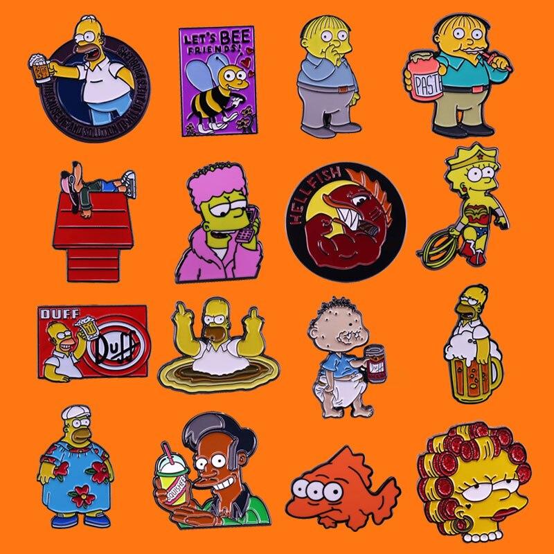 Muy Interesante анимации эмаль на булавке милый, лучший подарок для детей, металлическая брошка мультфильм рюкзак сумочки и шляпы, стиль воротник-з...