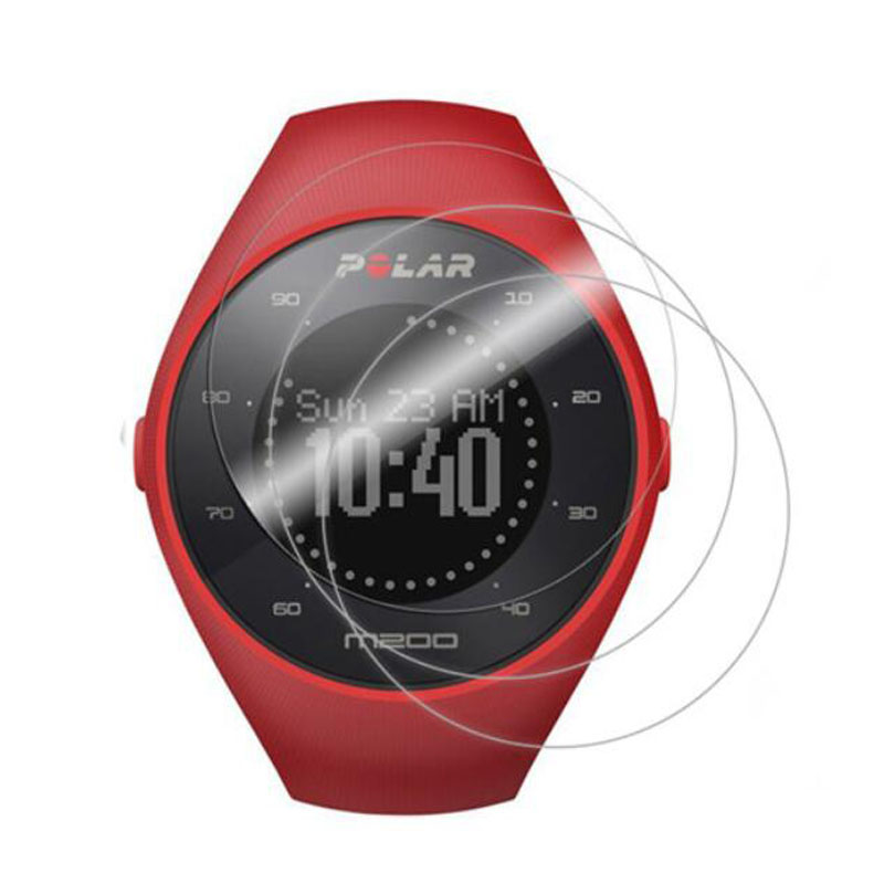 Ultra Clear Soft Protective Film Guard Protection For Polar M200 Smartwatch Sport Watch Full Screen Protector Cover (Not Glass)