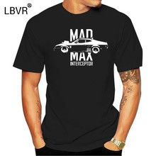 New Mad Max Interceptor Max Army Muscel Car Funny Graphic Black shirt size S-2XL(China)