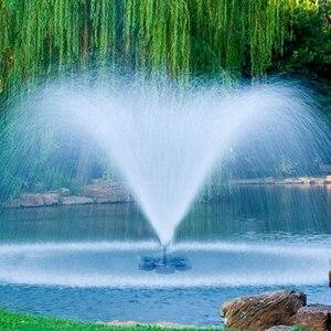Солнечный фонтанный насос на солнечных батареях птица ванная фонтан насос солнечная панель комплект водяной насос открытый полив погружно...