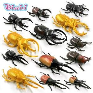 5 шт. Новый Diy моделирование насекомых, червь, модель животного, фигурка, подарок для детей, развивающие, детские, садовые, пластиковые, горячи...
