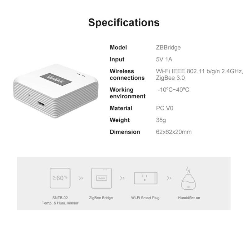 Had032033b0294c3989bae7cb5a0fbf23s - SONOFF ZigBee Bridge Wireless Door/Window Sensor Alert Notification Via EWeLink APP Control Smart Home Security Switch