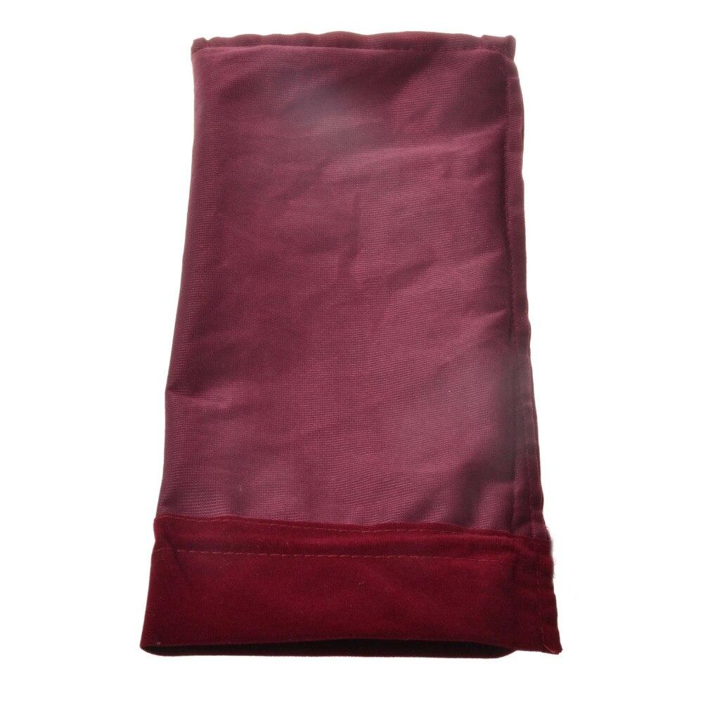 Garrafa de vinho de veludo cobre sacos cordão flanela champanhe vinho cego presente embalagem bolsa festa de casamento bomboniere dhl livre - 6