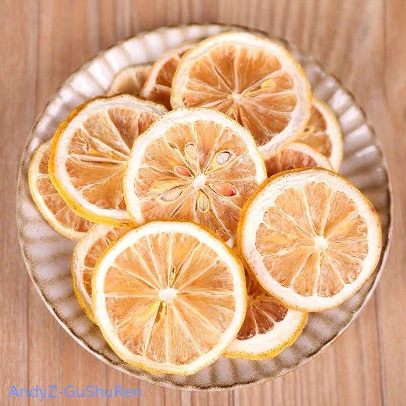 250g 2020 Chinese Dry Lemon Slice Flower Tea Natural Organic Lemon Tea Green Food For Health Care Lose Weight fruit Tea 1