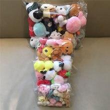 10PCS Gelegentliche Arten Plüsch Spielzeug 5-15CM, Bär, Pinguin, panda Niedliche Weiche Plüsch Puppe Für Kinder Weihnachten Geschenk