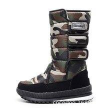 Men boots 2019 waterproof mens winter boots With Fur winter shoes slip-resistant Men Boots platform thick plush warm Plus size стоимость