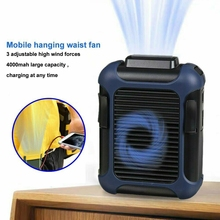 Waist-Fan Electric-Fan Air-Conditioner Portable USB with Recharge-Battery Ultra-Quiet
