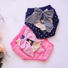 Panties Physiological-Pants Underwear Shorts Washable Sanitary Female Dot Pet for All-Season-Use