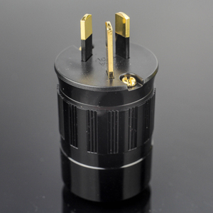 Image 4 - HiFi MPS Hercules AUG HiFi power cord Plugs Connector 24K gold Plated female Power connector Amplifier 15A Australian Plug