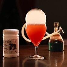 Молекулярный коктейль Копченый ароматизатор для приготовления Копченый бочонок молекулярный инструмент для коктейлей бар вино дым пузырьки чайник деревянные специи