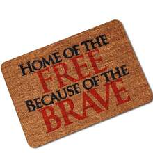 Дом свободный благодаря храбрым дверным коврикам входной напольный