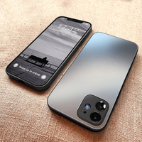 Custodia per telefono in vetro temperato satinato quadrato originale ASM per iPhone 12 11 Pro Max Mini XS XR X 8 7 Plus SE 2020 Cover rigida sottile