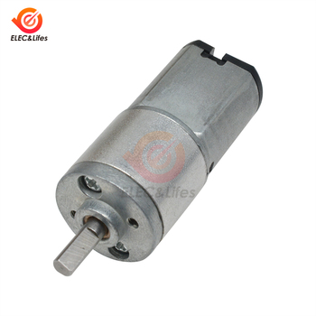 16GA-030 6V 12V Mini Gear DC Motor 100RPM Micro Metal Electric Gear Motor Actuador Lineal Low Speed Miniatura image