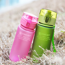 Bottle for Water Outdoor Sports Eco-friendly with Lid Hiking Camping Plastic Drink My Bottle.