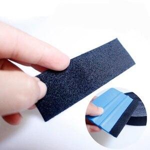 Image 2 - ممسحة فينيل من ألياف الكربون 500 سنتيمتر ، قماش احتياطي من جلد الغزال ، أداة تغليف السيارة ، ظل النافذة ، مكشطة ، حافة واقية من الخدوش