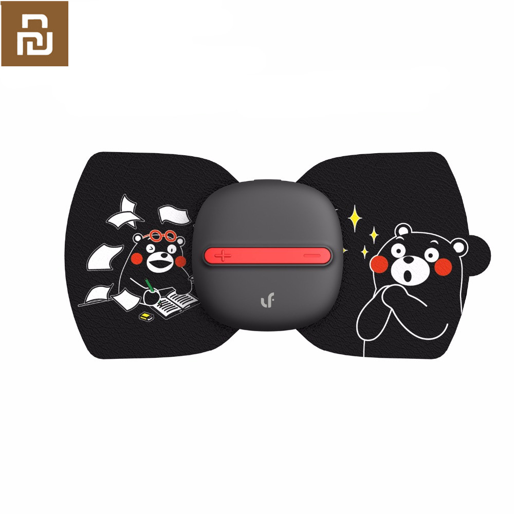 (English version)Youpin LF Electrical Full Body Relax Muscle Therapy Massager,Magic Touch  stickers Kumamon editionbody relaxmassage massagesbody electric -
